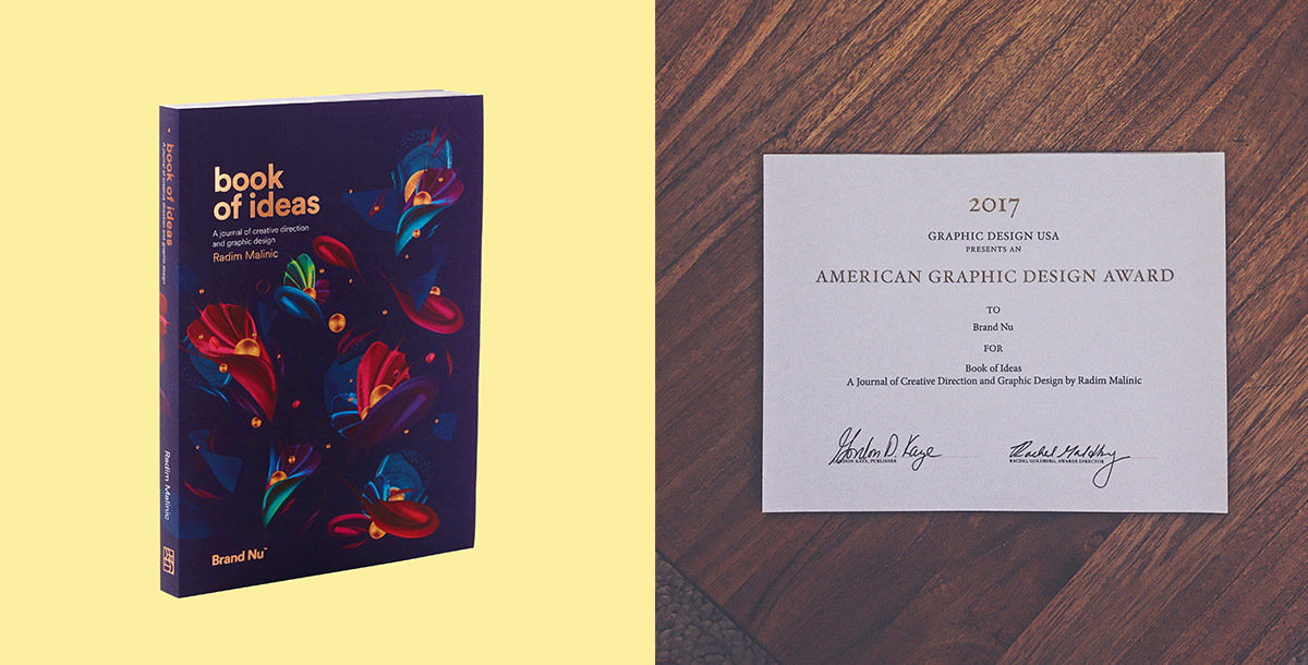 Book Of Ideas A Graphic Design Journal By Radim Malinic
