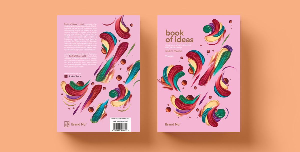 Book of Ideas - A graphic design journal by Radim Malinic