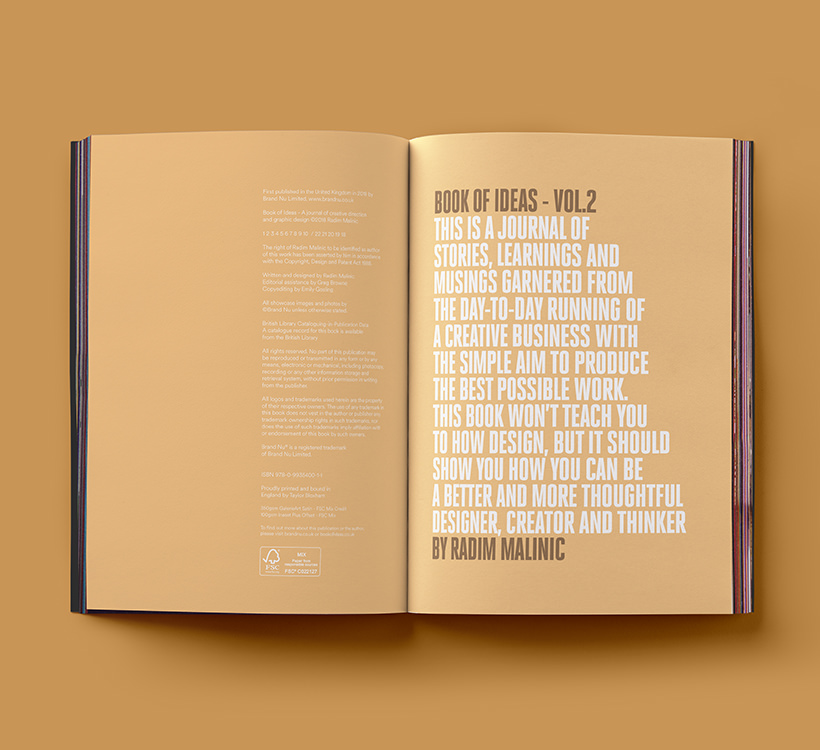 Book sample | Book of Ideas - A graphic design journal by ...